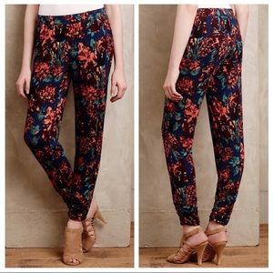 Anthropologie Lilka Kimbra Tapered Joggers pants